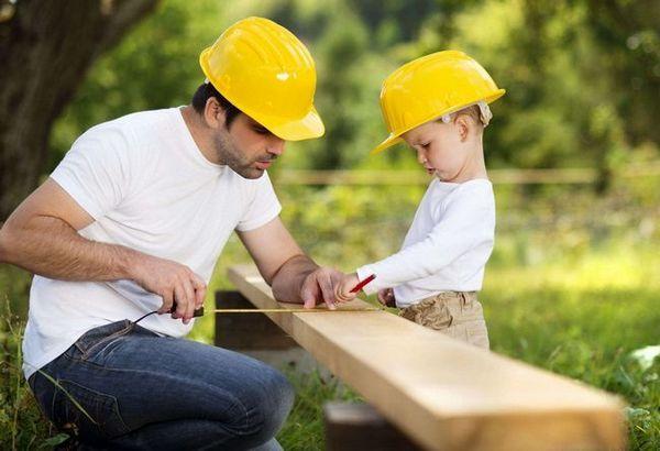 Процес на изграждане на къща