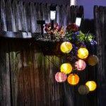 Снимка 26: Осветление на слънчева ограда