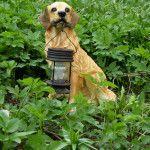 Снимка 30: Градинска фигура със слънчева светлина