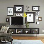 Картина 16: Стена с телевизор