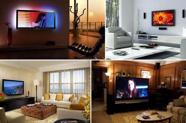 Монтирайте телевизора на стената със собствените си ръце