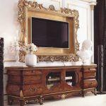 Снимка 29: Класически интериорен стил с телевизор