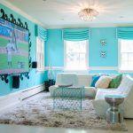 Снимка 36: Интериор на спалнята с телевизор