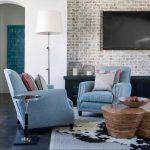 Снимка 39: Правила за местоположението на телевизора на стената