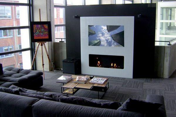 Телевизор в рамката