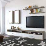 Снимка 7: Вътрешна украса с телевизор