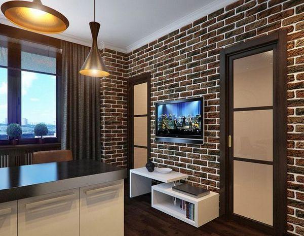 ТВ зона в хола