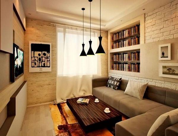 Дизайн на стената в интериора