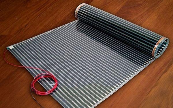 Инфрачервеният под е подходящ за вили, в градини
