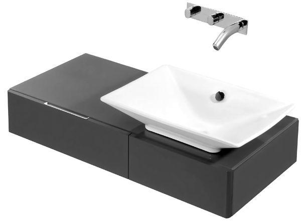 облицовка под модерната мивка