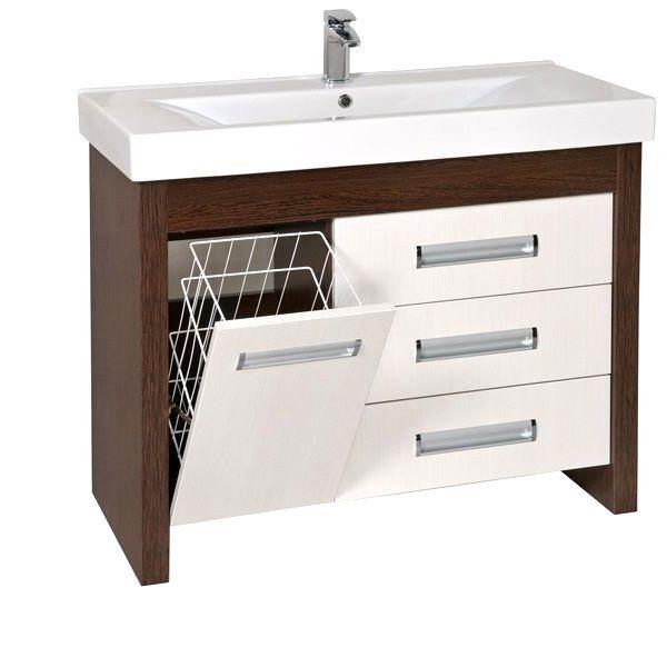 облицовка под мивката с чекмеджета