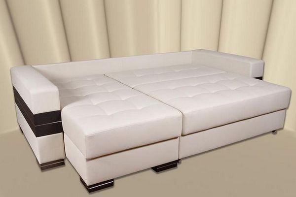 Ъглов диван със спално място