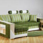 Снимка 8: Зелен цвят на дивана