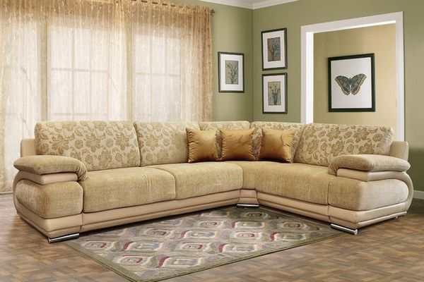 Крем диван