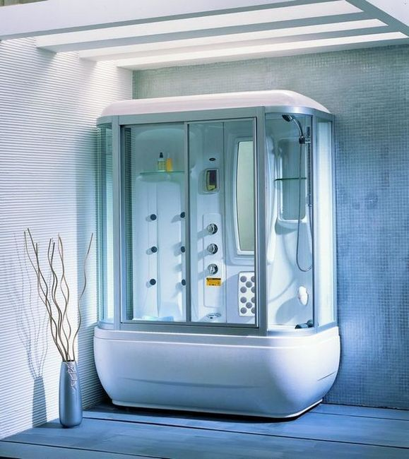 Ъглови душ кабини с големи плюсове и минуси на палета