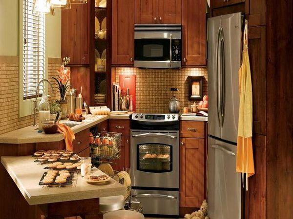 Ъглови кухни на 12 квадратни метра интересни решения с снимка