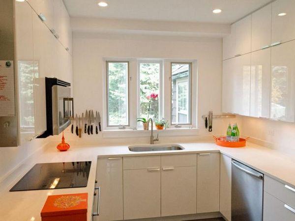 Идеи за дизайн кухня 12 квадратни. мм оформление