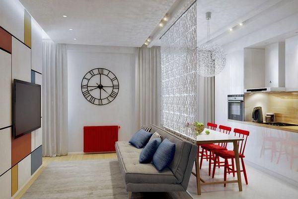 Проектиране на кухненски проекти от 12 м2 в стил на минимализъм