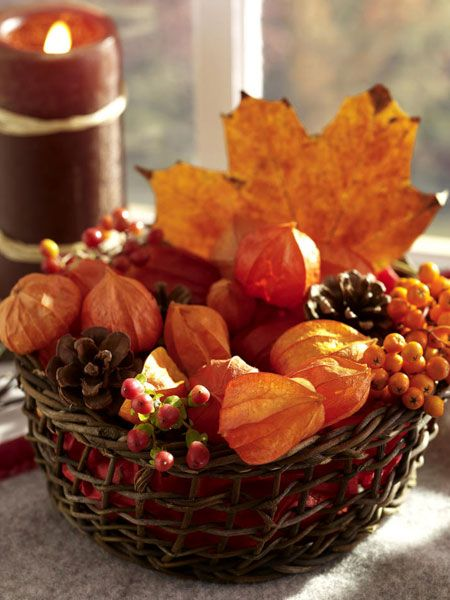 Есенни интериорни композиции