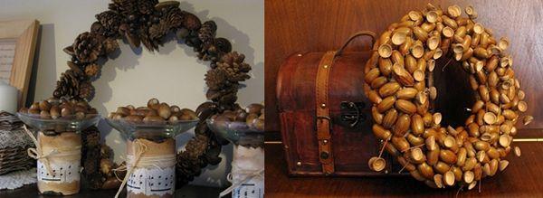 Оригинални венци за декорация на интериора