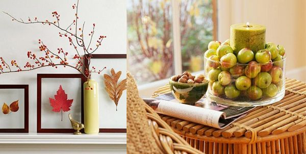 Есенни композиции за интериора