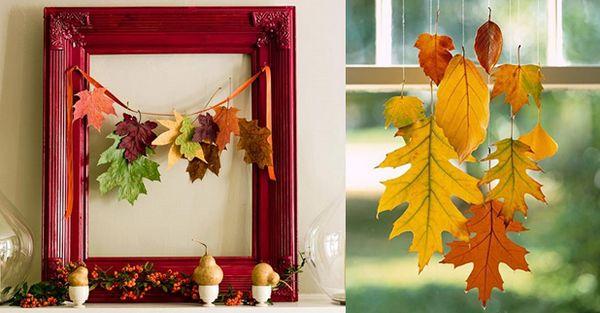 Декор за декориране на къща в есенна снимка