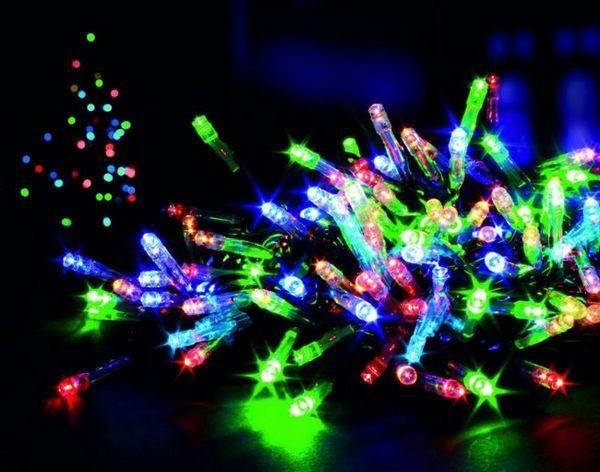 LED гирлянди за декорация на открит дом