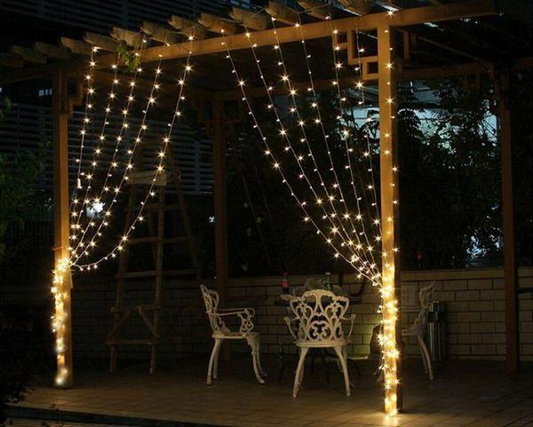 Гирлянди на LED дъжд