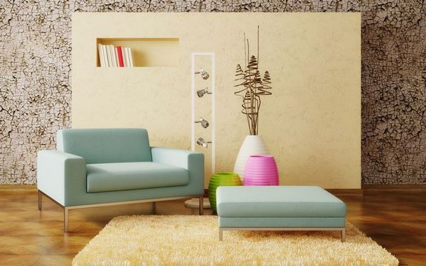 Уроци по дизайна на различни килими във вътрешността на хола