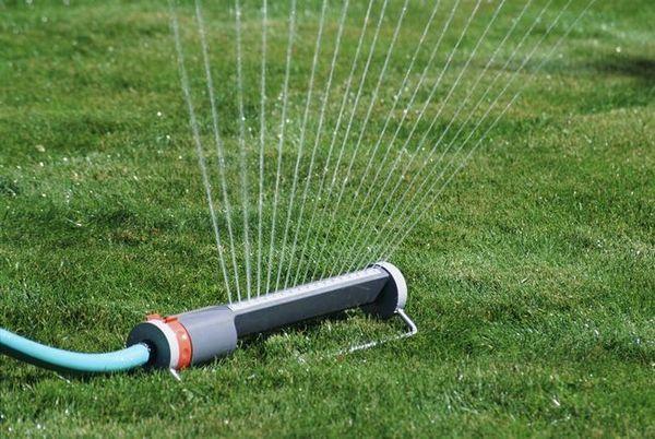Устройството за поливане