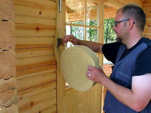 Топлоизолация на дървената къща