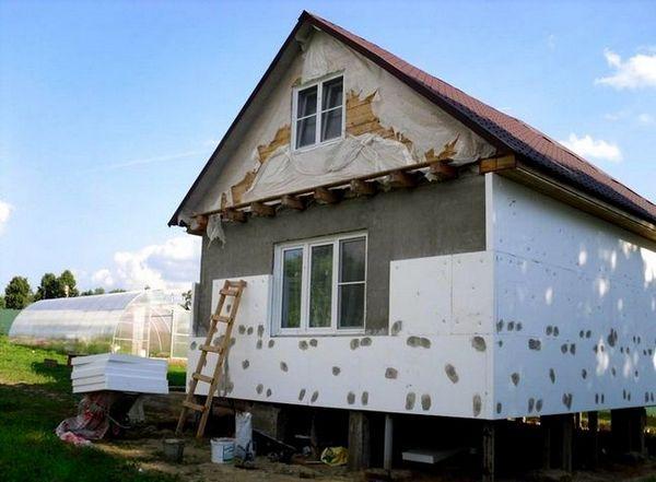 полистирол за изолация на камерна къща