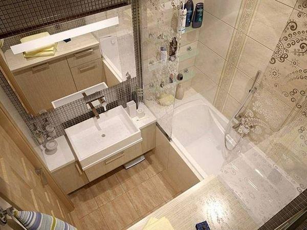 Баня снимка, дизайн за малка вана и оформление опции