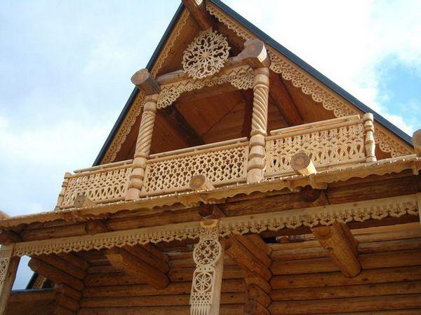 Дърворезба за декорация на дома