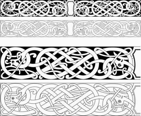 Орнаменти за дърворезба
