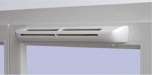 Вентилационен отвор за прозоречна плоча