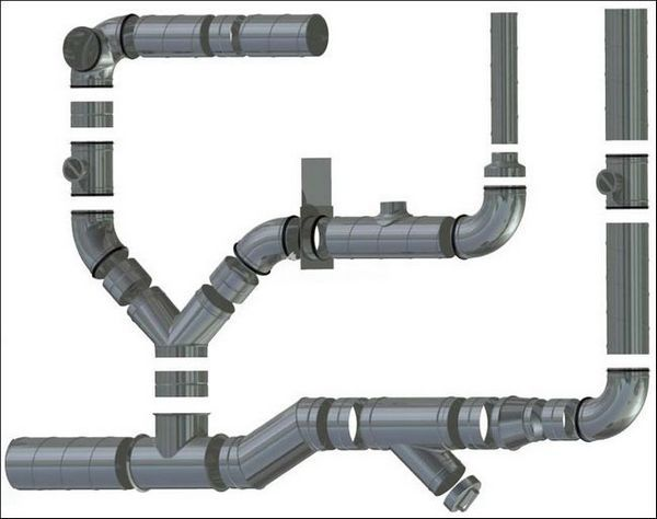 Пластмасови вентилационни тръби за извличане