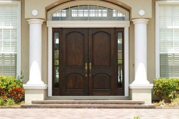 Входни врати за съвети и избор на селски къщи