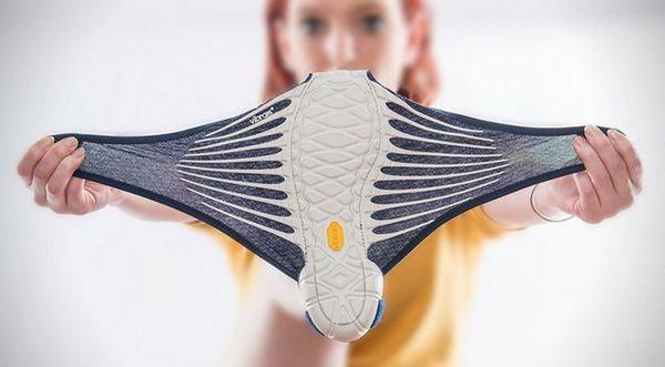 Вибрам furoshiki оригами за краката си