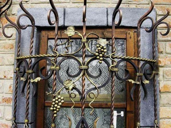 Видове метални решетки на прозорци с снимка