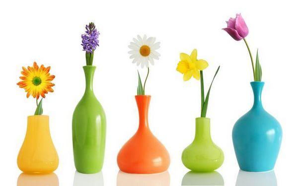 Възможни варианти на ваза за цветя