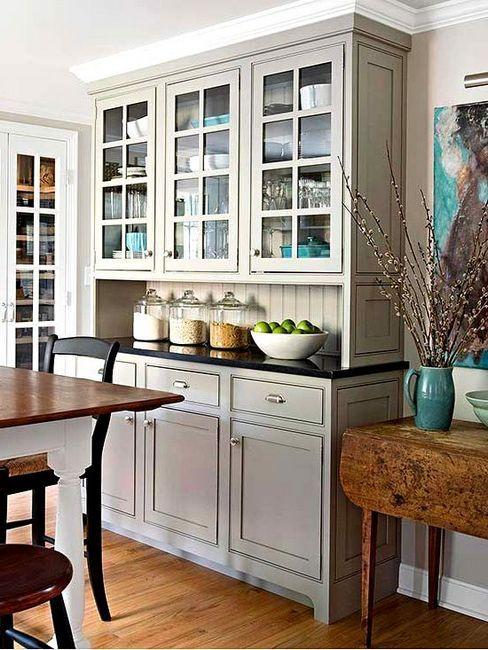 Вградени фото кухни и примери за дизайн