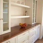 Снимка 22: Дървен материал в вградената кухня