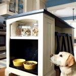 Снимка 20: Куче в вградената кухня