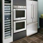 Снимка 21: Вградена кухня от пластмасова снимка