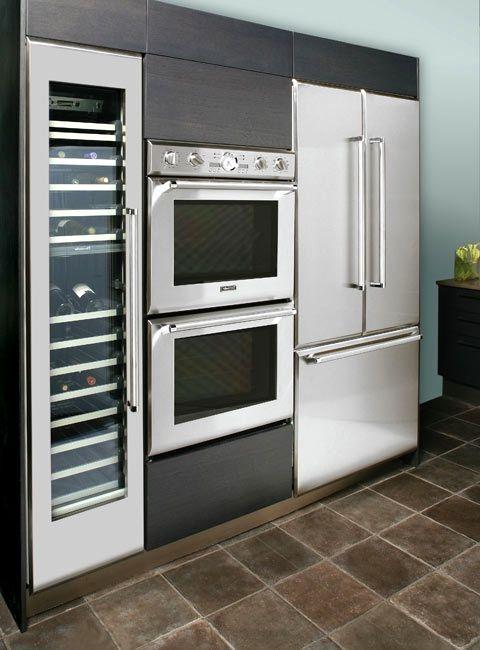 Вградена кухня от пластмасова снимка