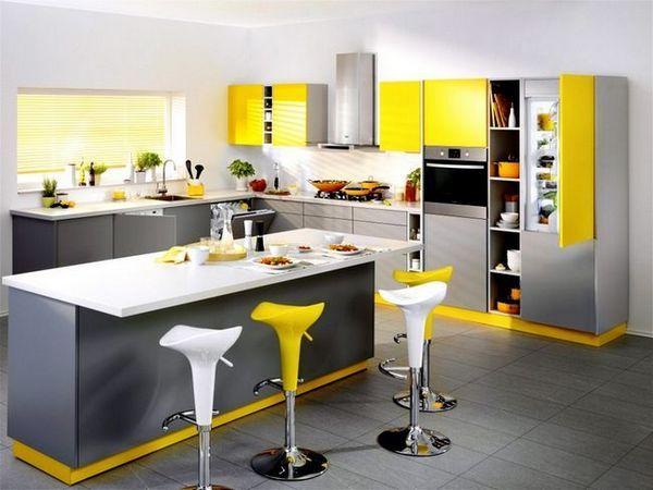 Вграден хладилник в кухнята