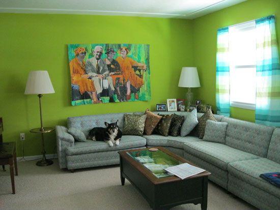 зелени стени