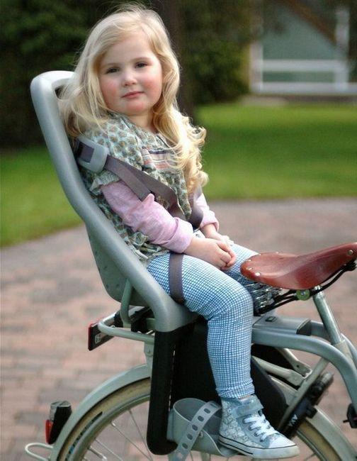 Бебешки велосипеден стол