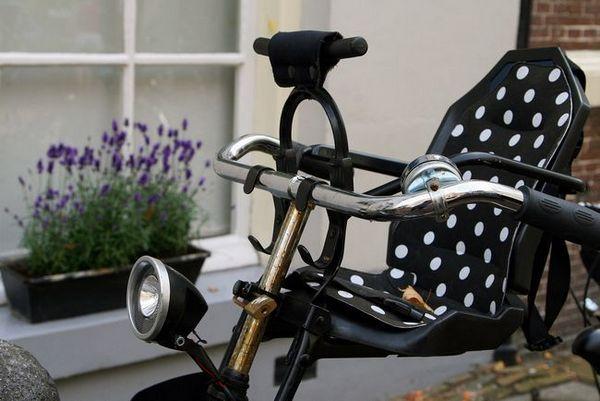 Предна седалка на велосипед